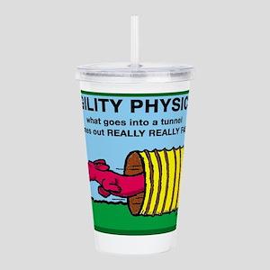 AgilityPhysics Acrylic Double-wall Tumbler