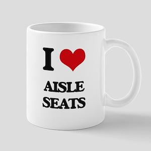 I Love Aisle Seats Mugs