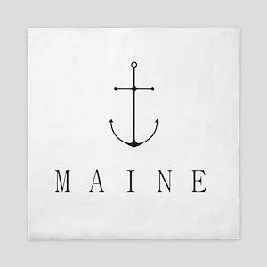 Maine Sailing Anchor Queen Duvet