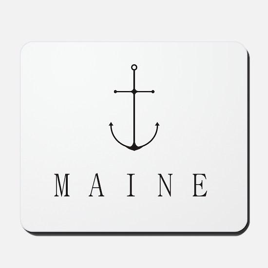 Maine Sailing Anchor Mousepad