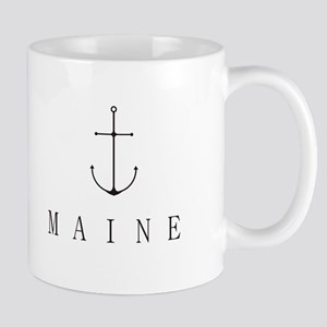 Maine Sailing Anchor Mugs