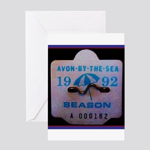 Avon by the Sea Greeting Cards