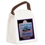Avon by the sea Canvas Lunch Bag