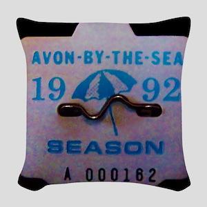 Avon by the Sea Woven Throw Pillow