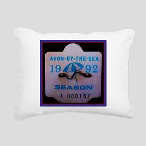 Avon by the Sea Rectangular Canvas Pillow