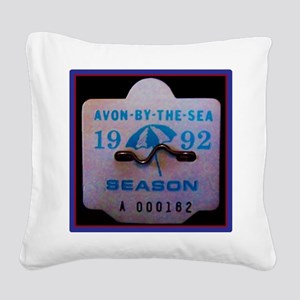 Avon by the Sea Square Canvas Pillow
