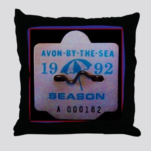 Avon by the Sea Throw Pillow