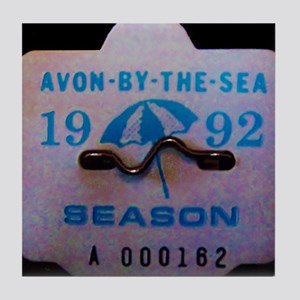 Avon by the Sea Tile Coaster