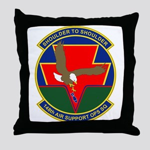 148th Air Support Ops Sq Throw Pillow