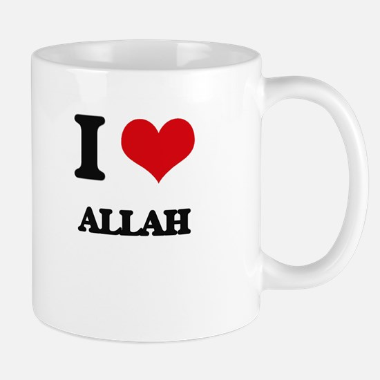 I Love Allah Mugs