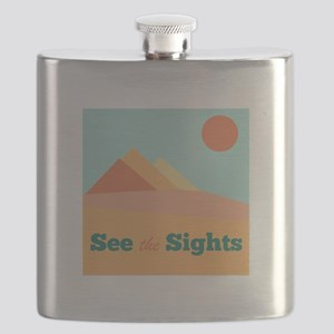 See The Sights Flask