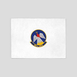 USAF 964th Airborne Air Control Squ 5'x7'Area Rug