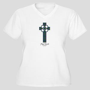 Cross-MacLeodSkye Women's Plus Size V-Neck T-Shirt