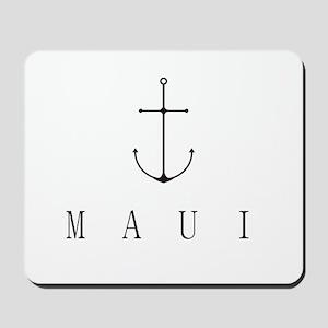 Maui Sailing Anchor Mousepad