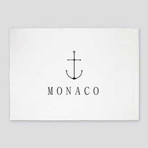 Monaco Sailing Anchor 5'x7'Area Rug