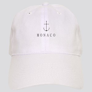 Monaco Sailing Anchor Baseball Cap