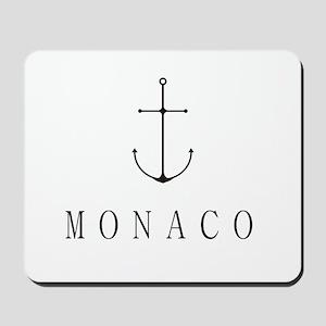 Monaco Sailing Anchor Mousepad