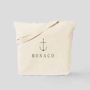 Monaco Sailing Anchor Tote Bag