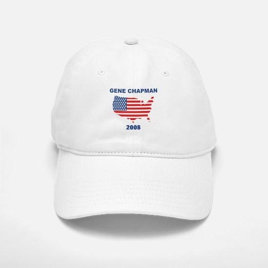 GENE CHAPMAN 2008 (US Flag) Baseball Baseball Cap