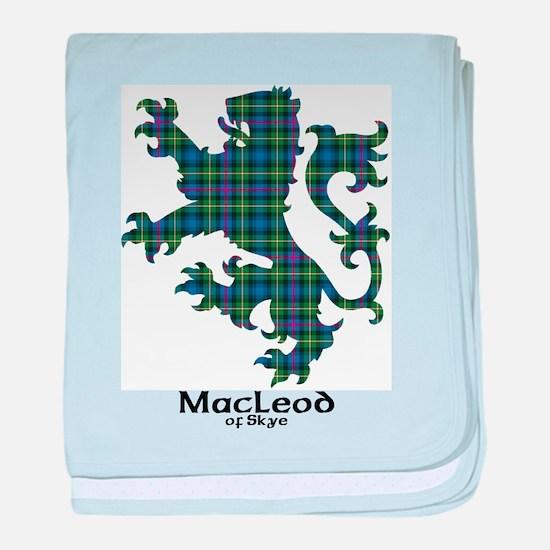Lion-MacLeodSkye baby blanket