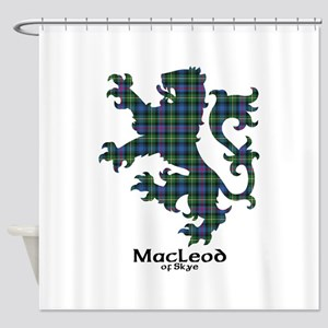 Lion-MacLeodSkye Shower Curtain
