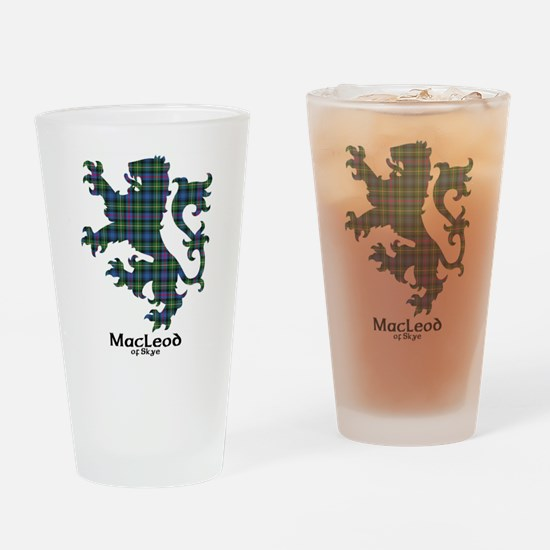 Lion-MacLeodSkye Drinking Glass