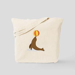 Circus Seal Tote Bag