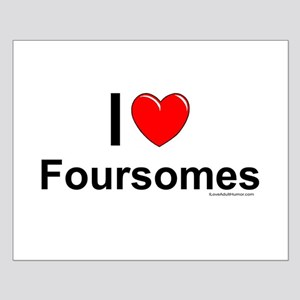 Foursomes Small Poster