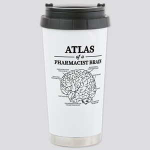 Atlas of a Pharma 16 oz Stainless Steel Travel Mug