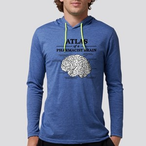 Atlas of a Pharmacist Brain Mens Hooded Shirt