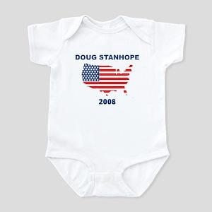 DOUG STANHOPE 2008 (US Flag) Infant Bodysuit