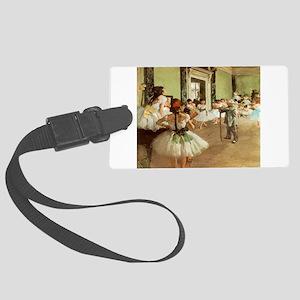 Degas Dance Class Luggage Tag