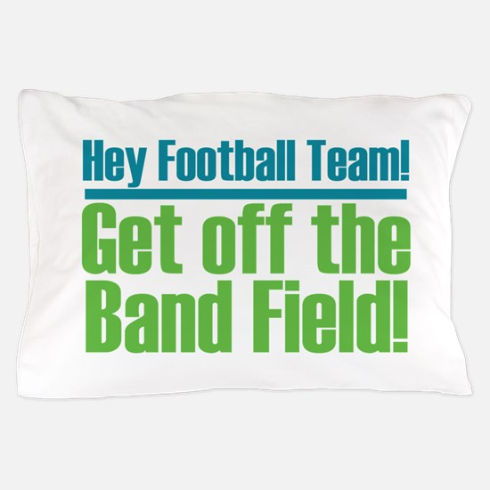 Marching Band Field Pillow Case