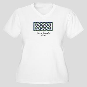 Knot-MacLeodSkye Women's Plus Size V-Neck T-Shirt