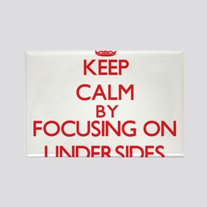 Keep Calm by focusing on Undersides Magnets