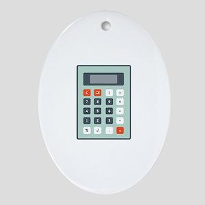 Calculator Ornament (Oval)