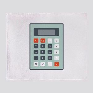 Calculator Throw Blanket