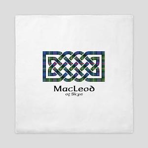 Knot-MacLeodSkye Queen Duvet