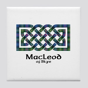 Knot-MacLeodSkye Tile Coaster