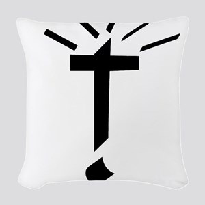 Jesus Died For You Too! Woven Throw Pillow