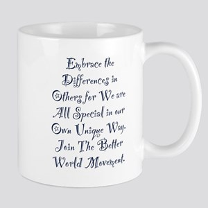 Embrace the Differences Mugs