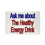 Healthy Energy Drink Rectangle Magnet