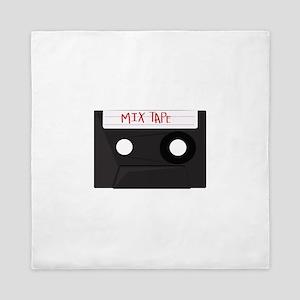 Mix Tape Queen Duvet