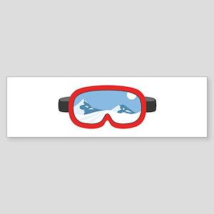 Ski Mask Bumper Sticker