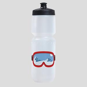 Ski Mask Sports Bottle