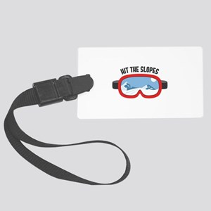 Hit the Slopes Luggage Tag