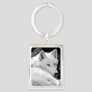 Gorgeous White Wolf Keychains