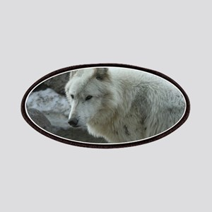 Gorgeous White Wolf Patches