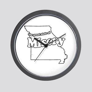 The Great State of Misery Wall Clock