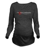 Descendants New Logo Long Sleeve Maternity T-Shirt